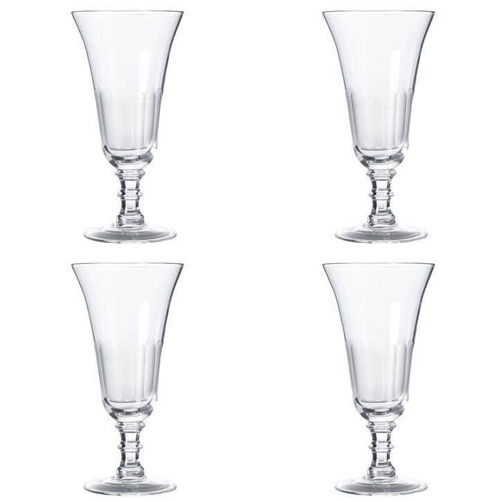 Ranelagh Champagne Flutes, Set of 4
