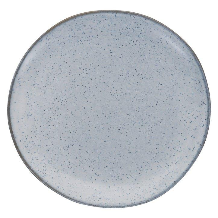 Olmo Side Plate, Light Blue