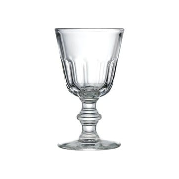 Perigord, Set Of 6 Wine Glasses, 19ml, Clear