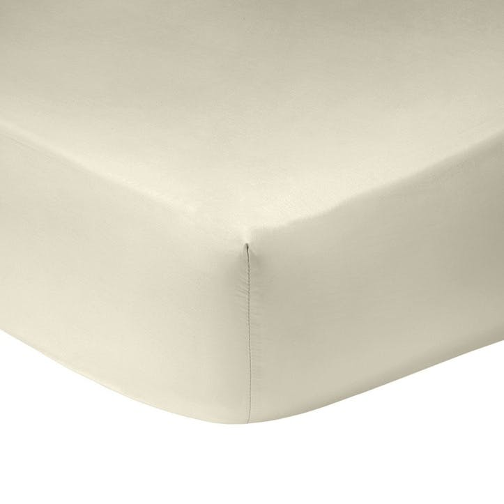 Triomphe Nacre Fitted Sheet, Super King