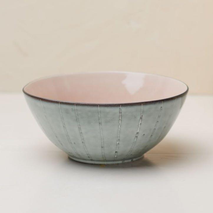 Bao Serving Bowl; Dusky Pink