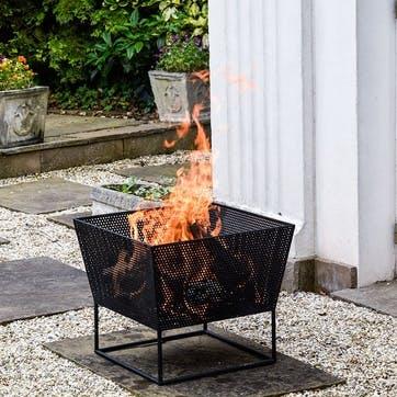 Norfolk, Outdoor Firebowl, Black