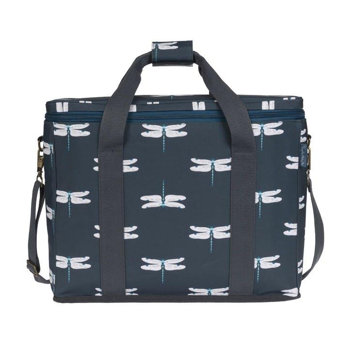 'Dragonfly' Oilcloth Picnic Bag