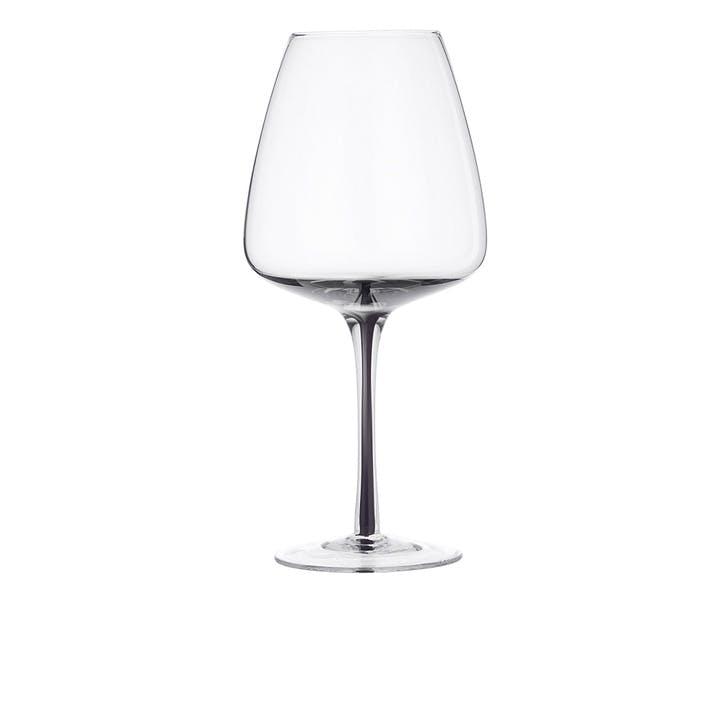 Smoke Red Wine Glass