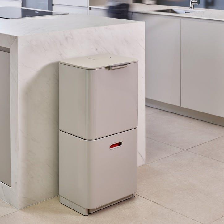 Totem Max 60 Recycling Bin, Stone