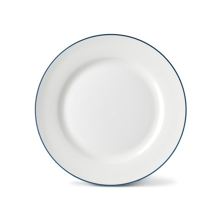 Rainbow Side Plate, Marine Blue