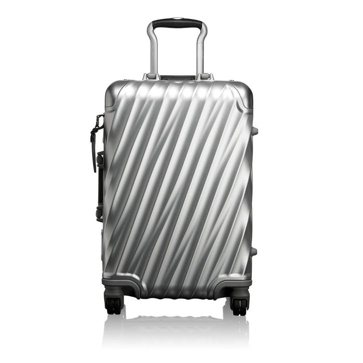 19 Degree Suitcase, 56cm, Silver