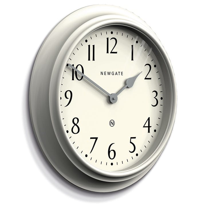 Westhampton Clock, 50cm; Linen Grey