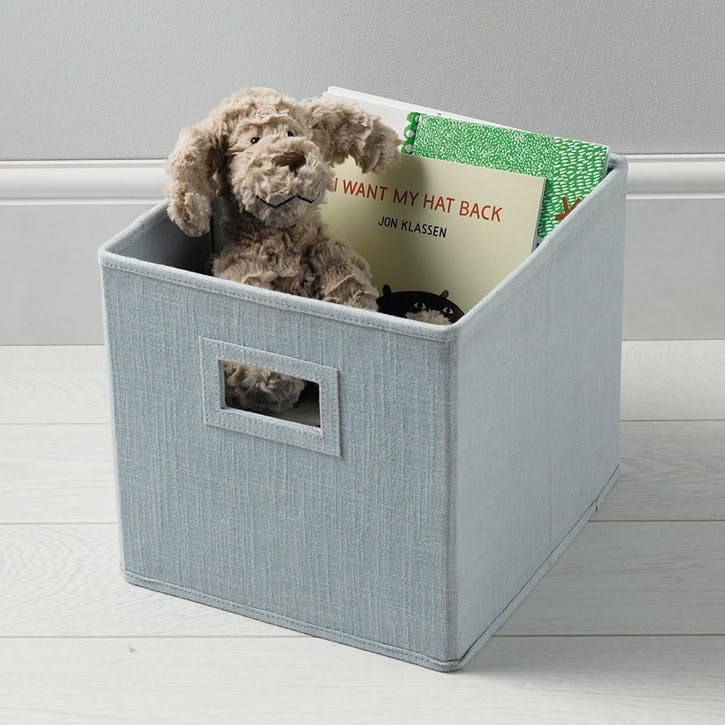 Storage Cube, Blue
