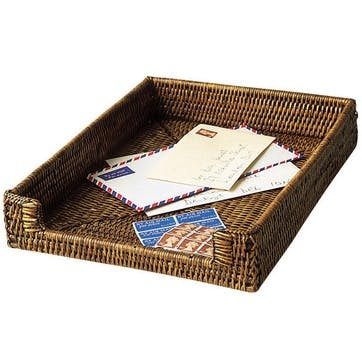 Rattan A4 Paper & Letter Tray