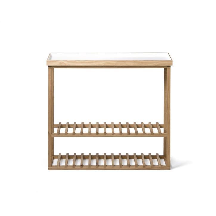 Hello Storage Table, White