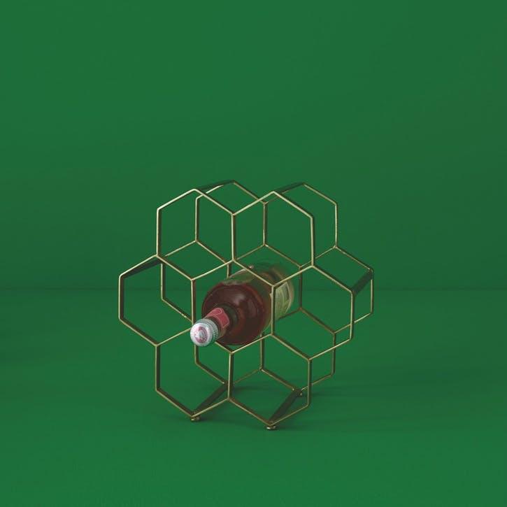 Honeycomb Wine Rack