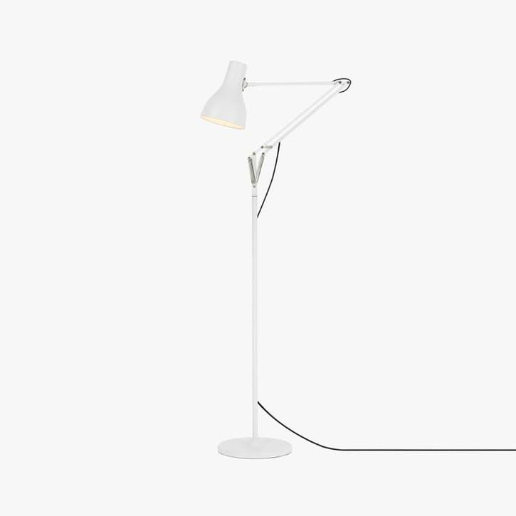 Type 75 Floor Lamp, Alpine White