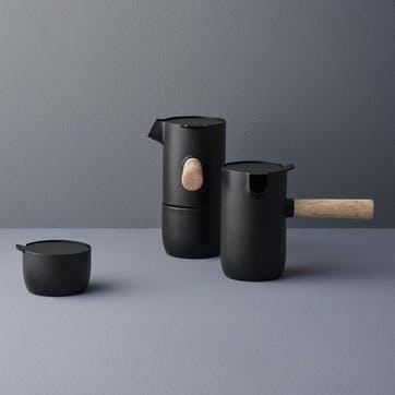Collar Sugar bowl, Black
