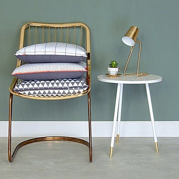 'Z' Table Lamp, Brass