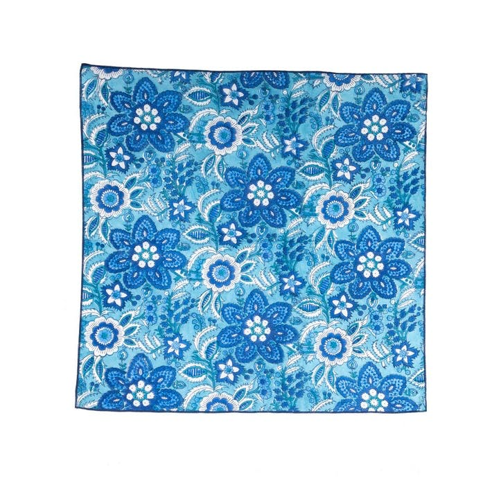 Provence Voile Hand-Printed Napkins, Set of 4