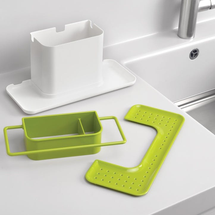Caddy Sink Tidy, Large, White