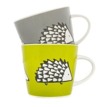 Spike Mugs, Set of 2