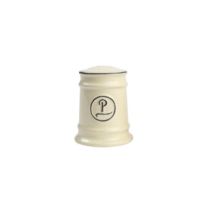 Pride of Place Pepper Shaker, Old Cream