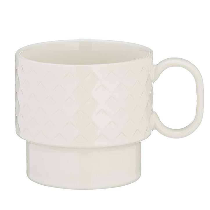 Coffee & More, Tea Mug, 400ml, White