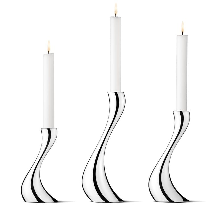Cobra Candleholder Set, 3 Pieces