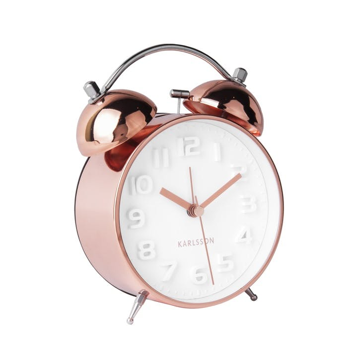 Mr White Alarm Clock, Copper