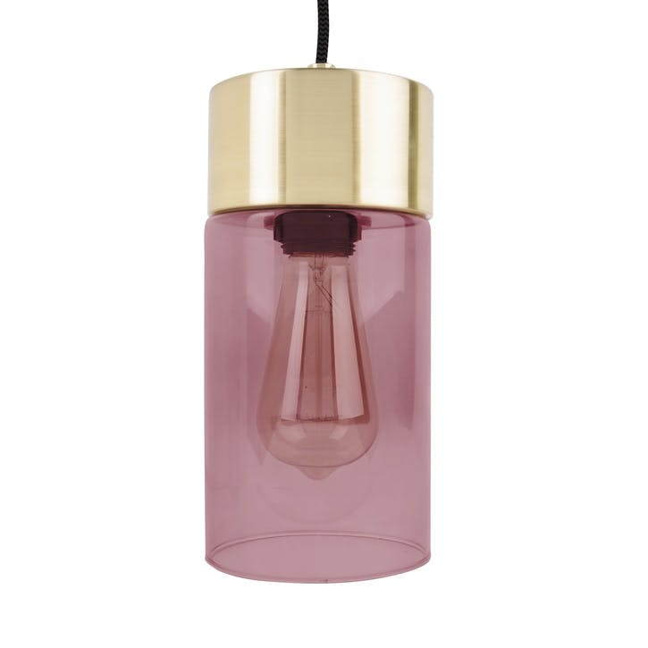 Lax Pendant Light, Pink