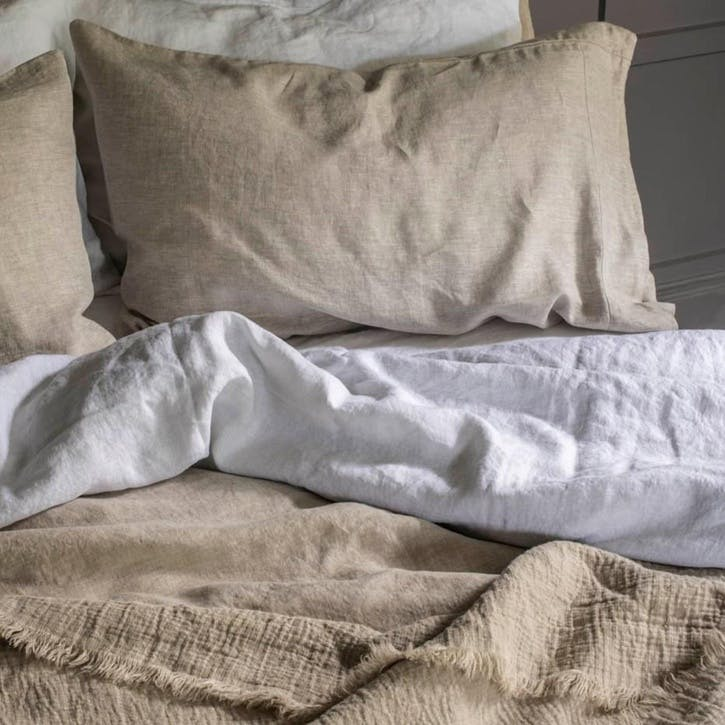 King Duvet Cover Oatmeal