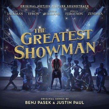 """The Greatest Showman Original Motion Picture Soundtrack 12"""" Vinyl"""