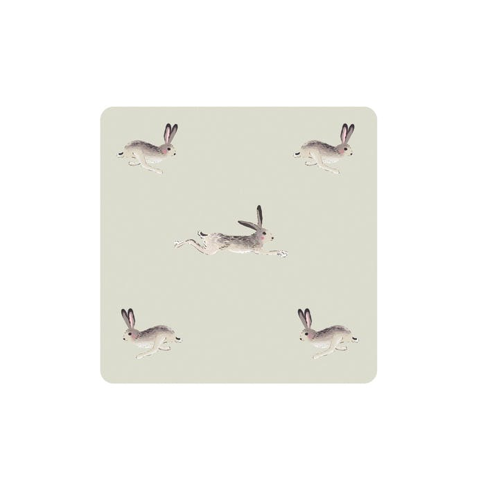 'Hare' Coasters, Set Of 4