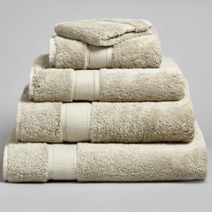 Shinjo Bath Towel, Stone