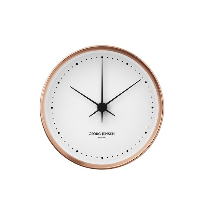 Koppel Wall Clock, Copper, 10cm