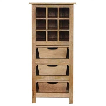 Cotswold Wine Cabinet, Natural