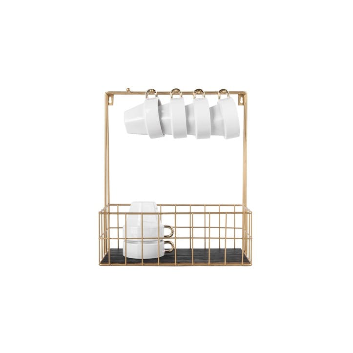 Kitchen Rack with Hooks
