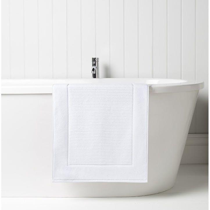 Supreme Supima Hygro White Bath Mat