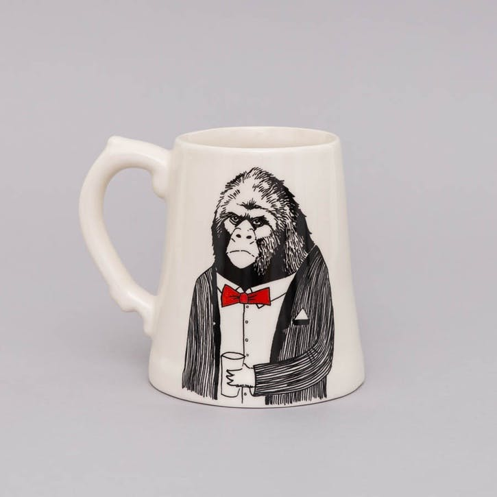 'Mr Ape' Beer Tankard