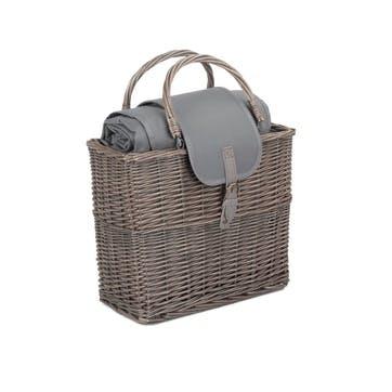 Chiller Basket And Picnic Blanket