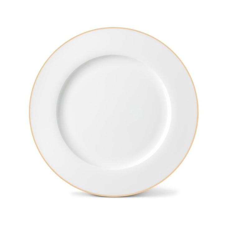 Rainbow Dinner Plate, Gold