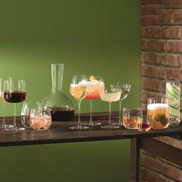 Borough Stemless Wine Glass, Set of 4, 455ml