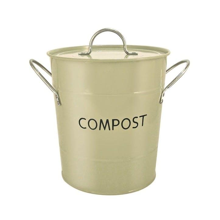 Compost Pail, 3.2 Litre, Sage