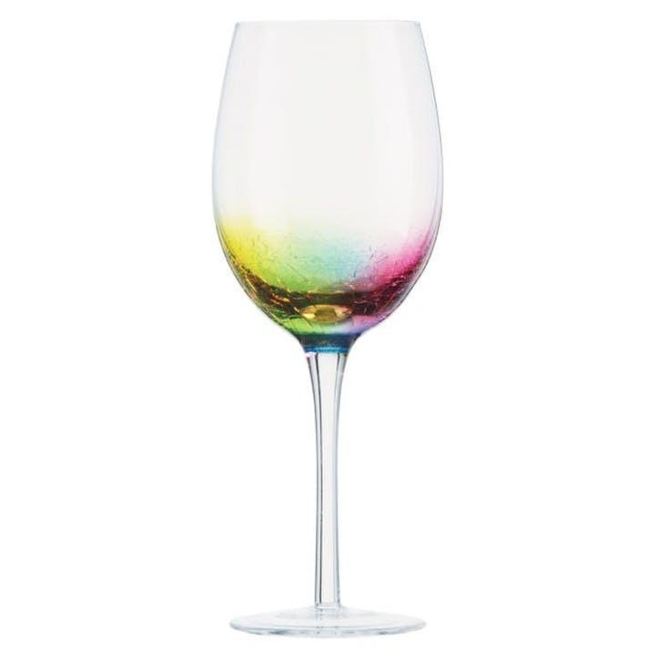 Neon Wine Glasses, Set of 2