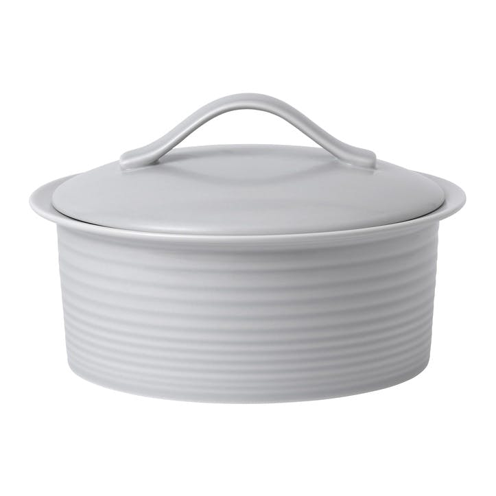 Gordon Ramsay Maze Casserole Dish, 24cm, Light Grey
