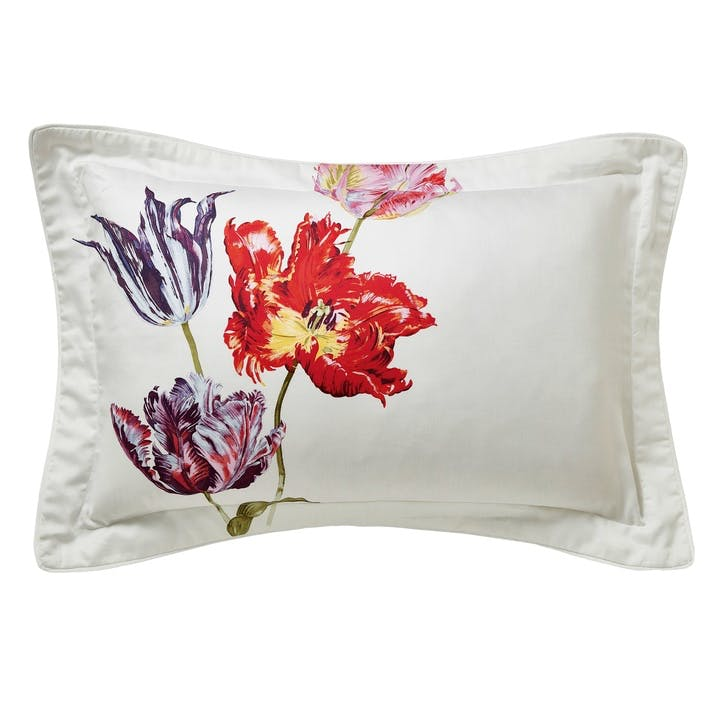 Tulipomania Oxford Pillowcase, Amethyst