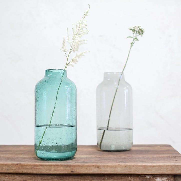 Toska Vase - Large; Smoke Grey