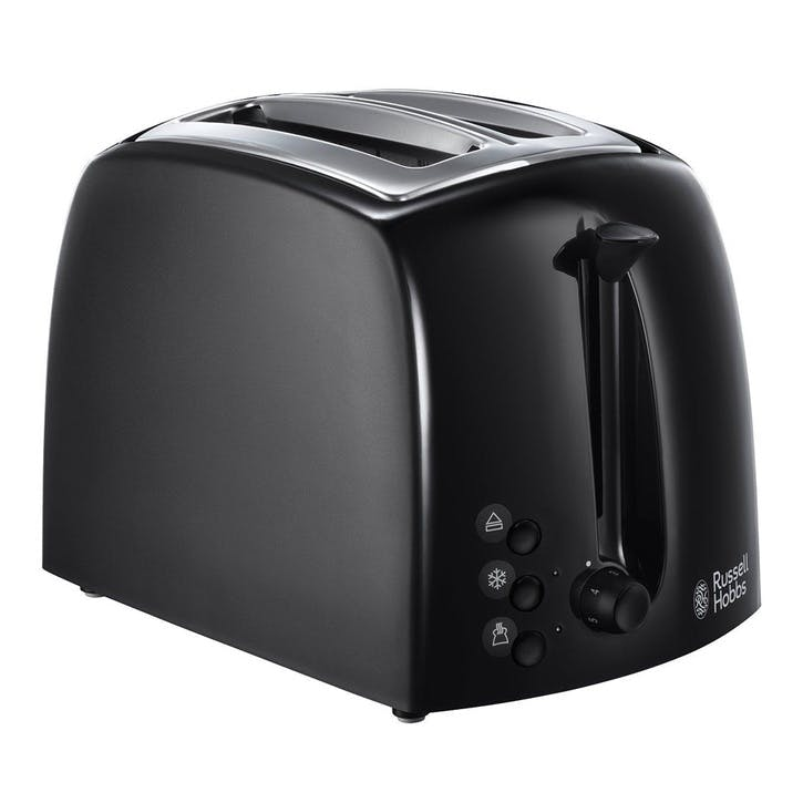 Textures Toaster 2 Slot; Black