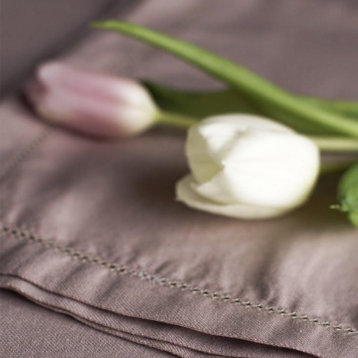 Linen & Bamboo Blend Napkin Set, Champagne Pink