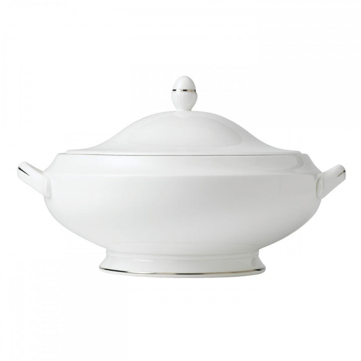 Signet Platinum Covered Vegetable Dish
