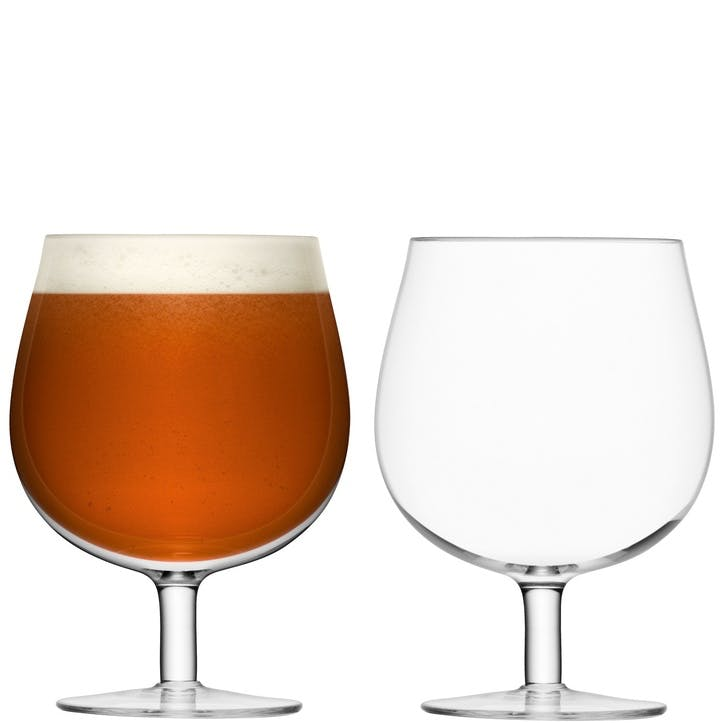 LSA Bar Craft Beer Glass, 550ml, Set of 2