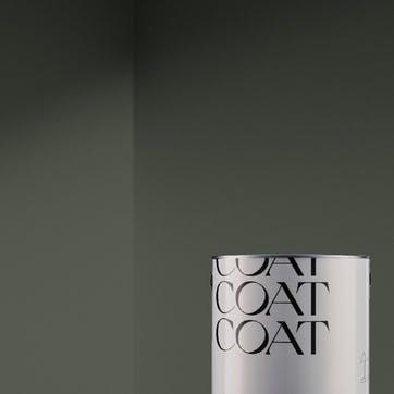 Flat Matt Wall & Ceiling Paint, Nomad Dark Olive Green  2.5L