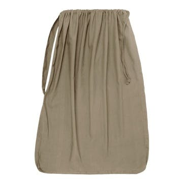 Panama Laundry And Storage Bag, H100 x W70cm, Clay